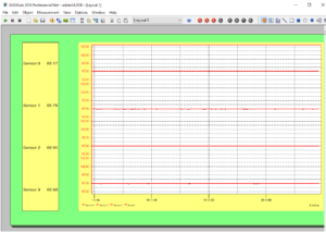 Virtual Temperature Chart Recorder